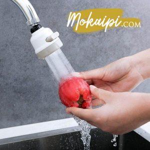 robinet pivotant mitigeur robinet orientable douchette pour robinet cuisine flexible evier economiseur d eau universel augmente la pression vue01